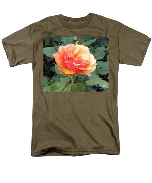 Men's T-Shirt  (Regular Fit) featuring the photograph Perfect Rose by Janette Boyd