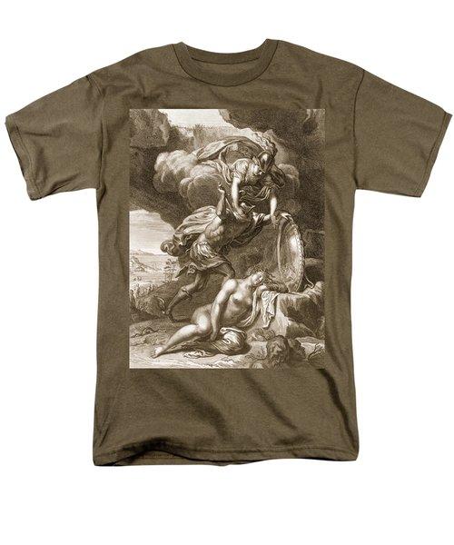 Perseus Cuts Off Medusas Head, 1731 Men's T-Shirt  (Regular Fit) by Bernard Picart