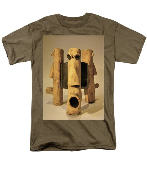 Perspectives Men's T-Shirt  (Regular Fit) by Mario Perron