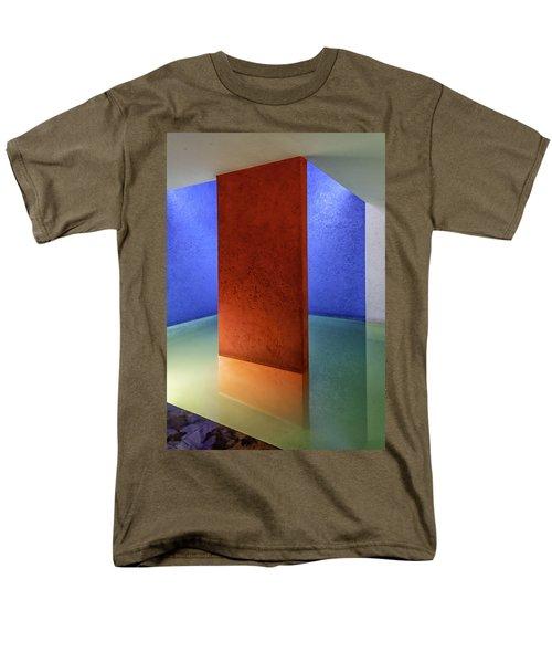 Physical Abstraction Men's T-Shirt  (Regular Fit) by Lynn Palmer