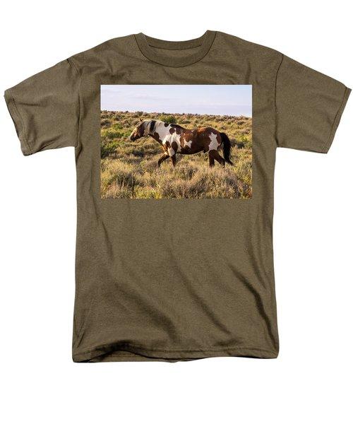 Picasso - King Of Sand Wash Basin Men's T-Shirt  (Regular Fit)