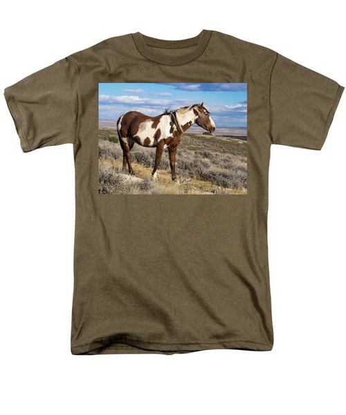 Picasso Of Sand Wash Basin Men's T-Shirt  (Regular Fit) by Nadja Rider