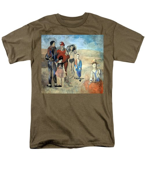 Picasso's Family Of Saltimbanques Men's T-Shirt  (Regular Fit) by Cora Wandel