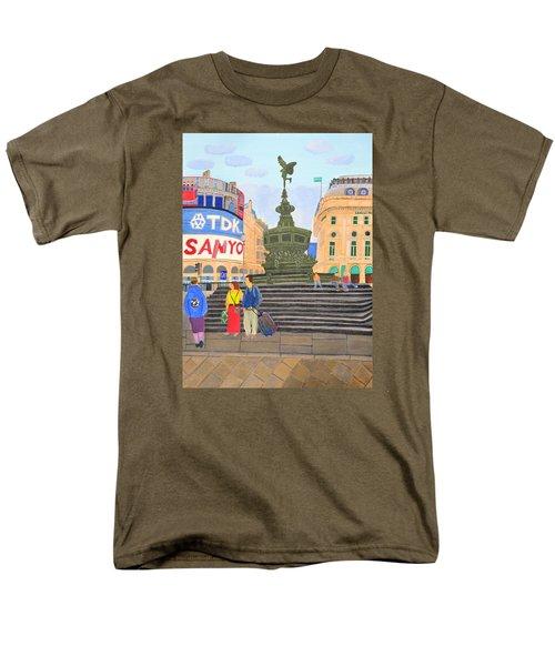 London- Piccadilly Circus Men's T-Shirt  (Regular Fit)