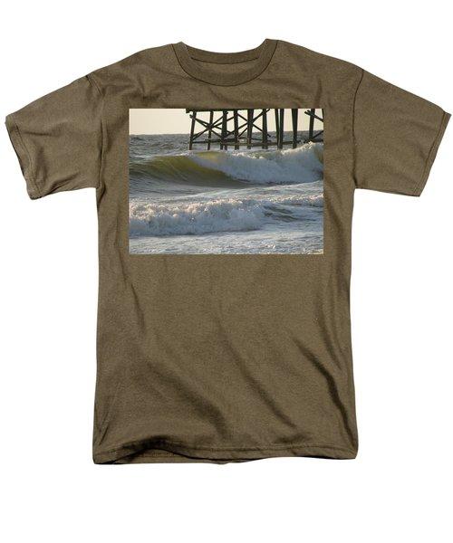 Pier Pressure Men's T-Shirt  (Regular Fit) by Ellen Meakin