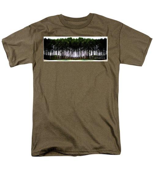 Pine Forest Men's T-Shirt  (Regular Fit) by Marcia Lee Jones