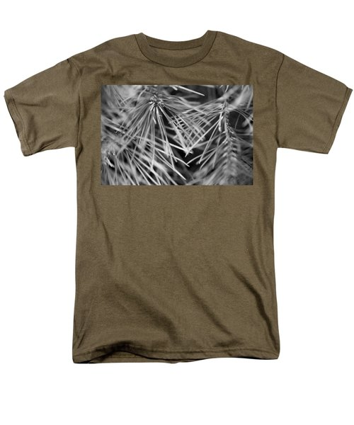 Pine Needle Abstract Men's T-Shirt  (Regular Fit) by Susan Stone