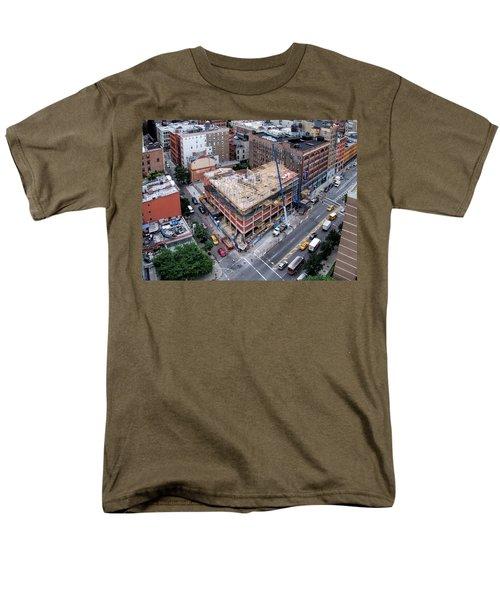 Placing Concrete Forms Men's T-Shirt  (Regular Fit) by Steve Sahm
