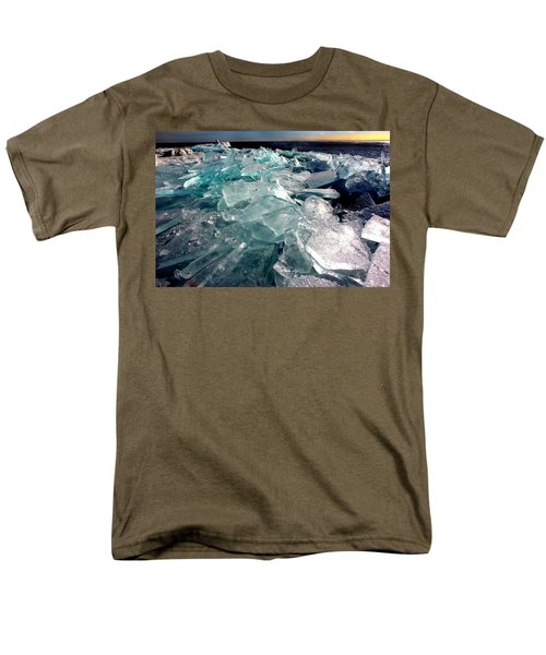 Plate Ice  Men's T-Shirt  (Regular Fit) by Amanda Stadther