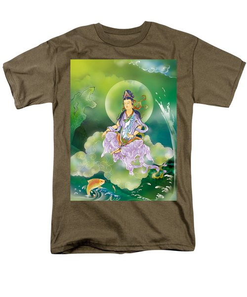 Men's T-Shirt  (Regular Fit) featuring the photograph Playing Avalokitesvara   by Lanjee Chee