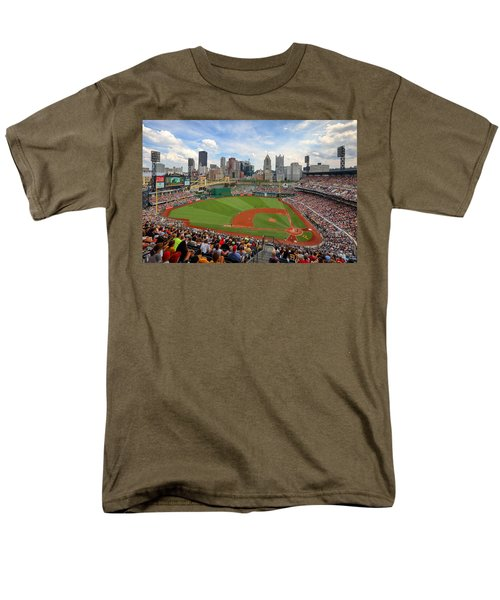 Pnc Park 2014 Men's T-Shirt  (Regular Fit) by Emmanuel Panagiotakis