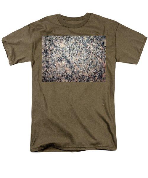Pollock's Number 1 -- 1950 -- Lavender Mist Men's T-Shirt  (Regular Fit) by Cora Wandel