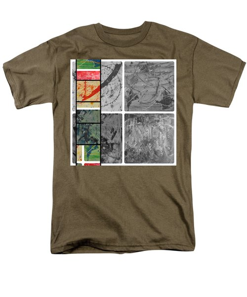 Men's T-Shirt  (Regular Fit) featuring the photograph Poor And Rich by Sir Josef - Social Critic - ART