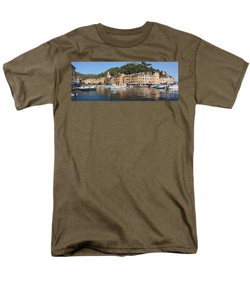Men's T-Shirt  (Regular Fit) featuring the photograph Porttofino - Italy by Antonio Scarpi