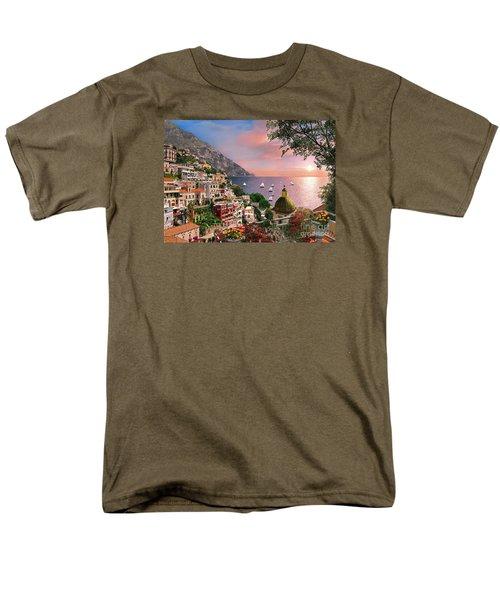 Positano Men's T-Shirt  (Regular Fit) by Dominic Davison