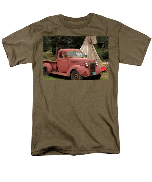 Postcard From Yesterday Men's T-Shirt  (Regular Fit) by Lynn Sprowl