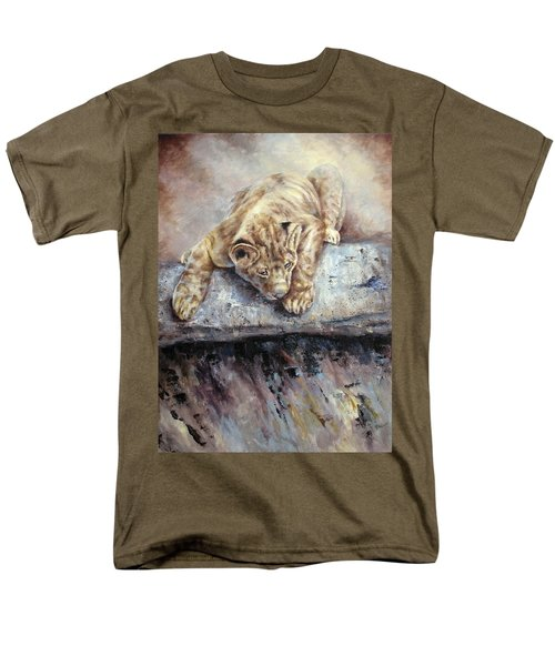 Pounce Men's T-Shirt  (Regular Fit)