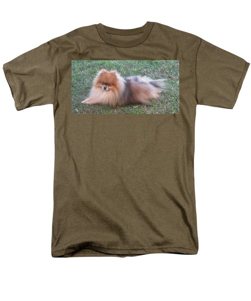 Pretty Pom Men's T-Shirt  (Regular Fit) by Fortunate Findings Shirley Dickerson