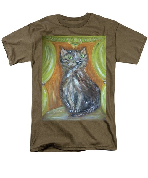 Men's T-Shirt  (Regular Fit) featuring the painting Princess Kitty by Teresa White