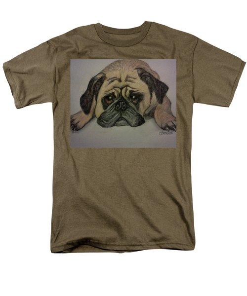 Pug Men's T-Shirt  (Regular Fit) by Christy Saunders Church