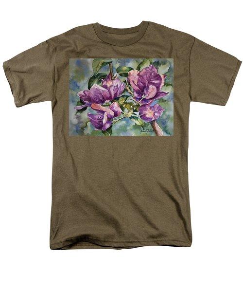 Purple Beauties - Bougainvillea Men's T-Shirt  (Regular Fit) by Roxanne Tobaison