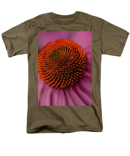 Purple Coneflower Men's T-Shirt  (Regular Fit)