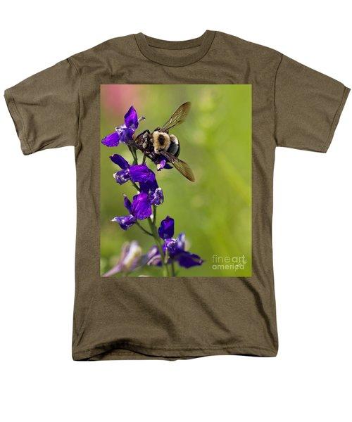 Purple Majesty Men's T-Shirt  (Regular Fit) by Erika Weber
