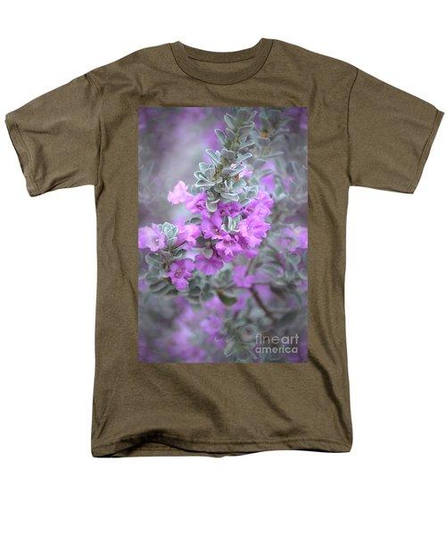 Purple Sage Men's T-Shirt  (Regular Fit) by Deb Halloran