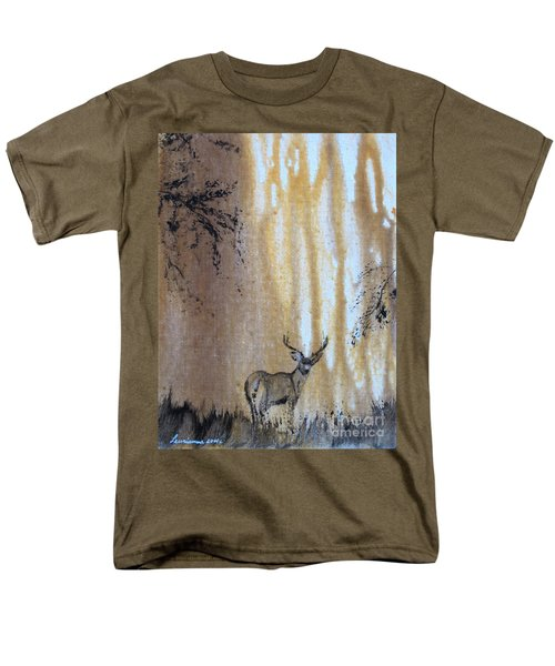 Men's T-Shirt  (Regular Fit) featuring the painting Quiet Time2 by Laurianna Taylor