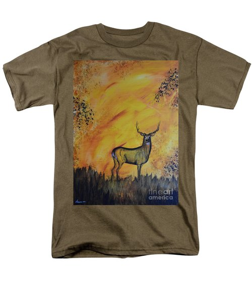 Men's T-Shirt  (Regular Fit) featuring the painting Quiet Time3 by Laurianna Taylor