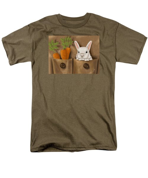 Rabbit Hole Men's T-Shirt  (Regular Fit) by Veronica Minozzi