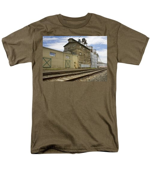 Railway Mill Men's T-Shirt  (Regular Fit) by Sonya Lang