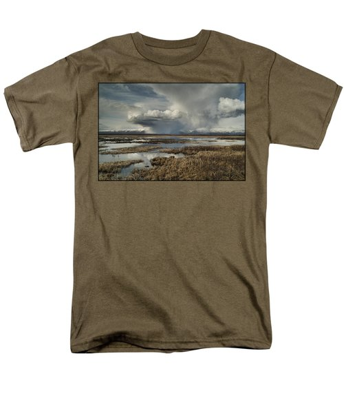 Rain Storm Men's T-Shirt  (Regular Fit)