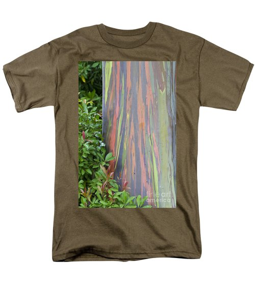 Rainbow Eucalyptus Men's T-Shirt  (Regular Fit) by Bryan Keil