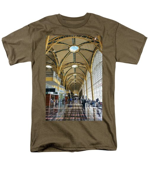 Men's T-Shirt  (Regular Fit) featuring the photograph Reagan National Airport by Suzanne Stout
