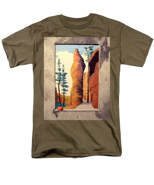 Reared Window Men's T-Shirt  (Regular Fit)