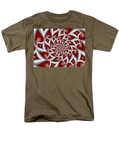 Red An Gray Men's T-Shirt  (Regular Fit) by Gabiw Art