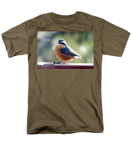 Red-breasted Nuthatch Men's T-Shirt  (Regular Fit) by Marilyn Burton