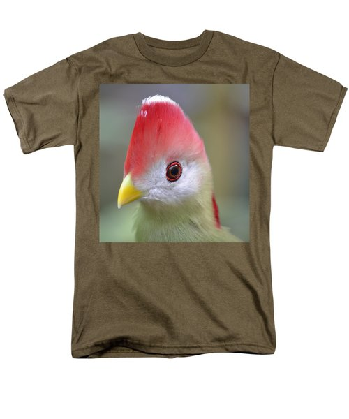 Red Crested Turaco Men's T-Shirt  (Regular Fit) by Richard Bryce and Family