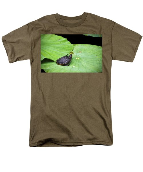 Red-eared Slider Men's T-Shirt  (Regular Fit) by Greg Reed