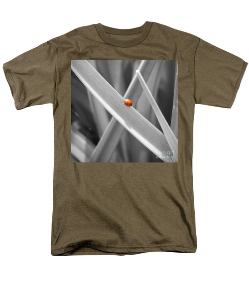 Red Ladybird Men's T-Shirt  (Regular Fit) by Chalet Roome-Rigdon