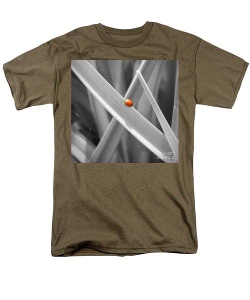 Red Ladybird Men's T-Shirt  (Regular Fit)