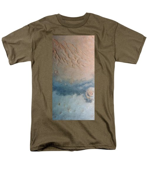 Red Planet 1 Men's T-Shirt  (Regular Fit) by David Hansen
