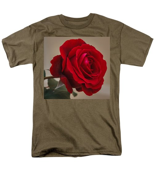 Red Rose Men's T-Shirt  (Regular Fit) by Jane Luxton