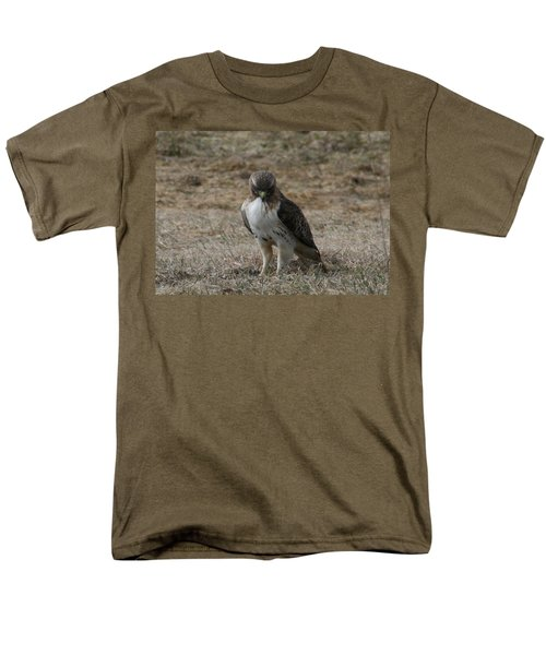 Men's T-Shirt  (Regular Fit) featuring the photograph Red Tailed Hawk by Neal Eslinger