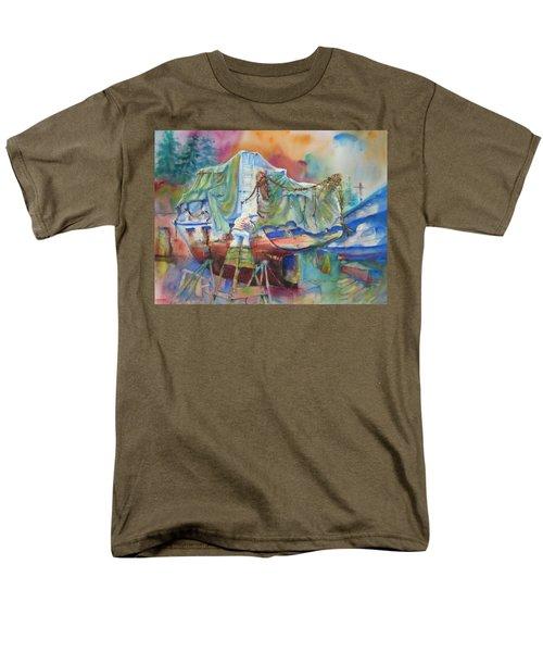 Redemption Ilwaco Wa Men's T-Shirt  (Regular Fit)