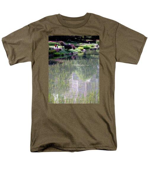 Reflection And Movement Men's T-Shirt  (Regular Fit) by Menachem Ganon