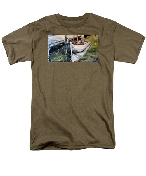 Men's T-Shirt  (Regular Fit) featuring the painting Reflections by Alan Lakin