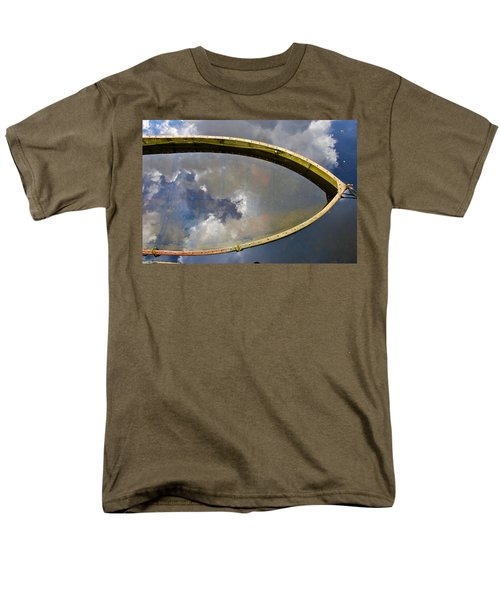 Reflections Men's T-Shirt  (Regular Fit) by Charlie Brock