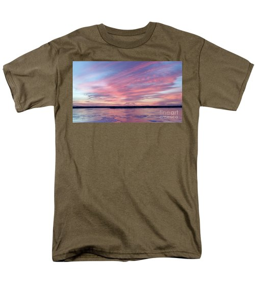 Reflections In Pink Men's T-Shirt  (Regular Fit)
